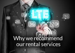 Why we recommend our rental services